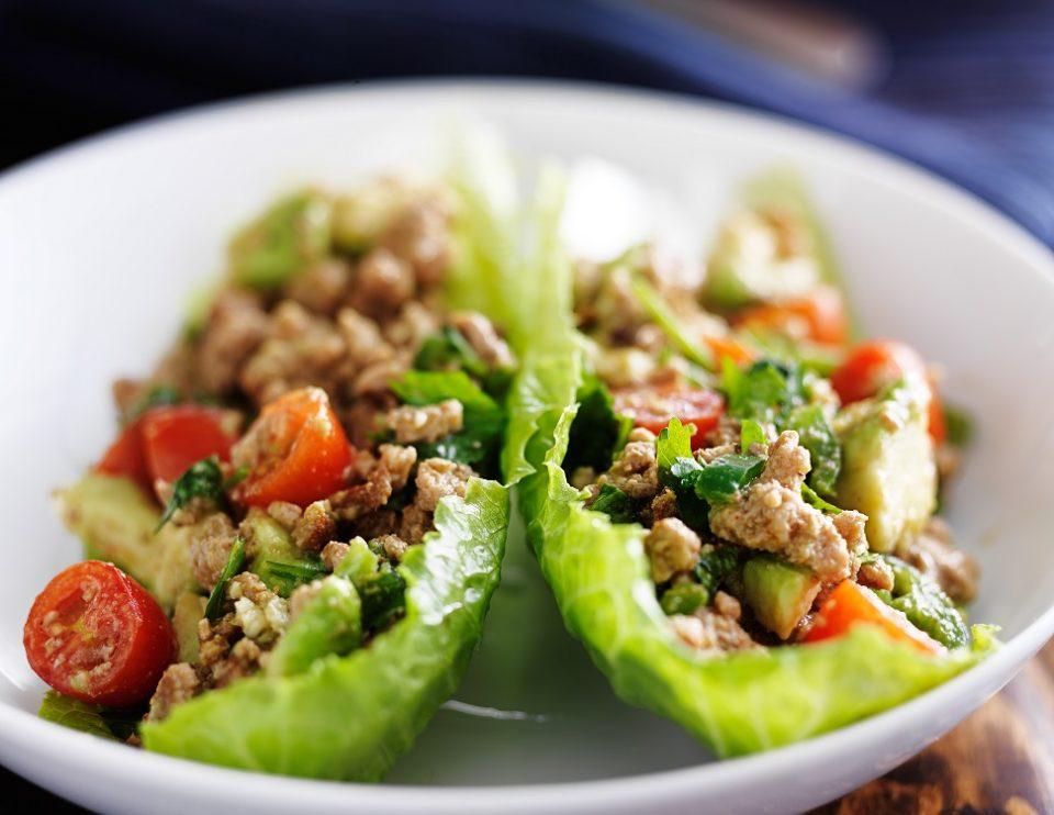 turkey-lettuce-wraps